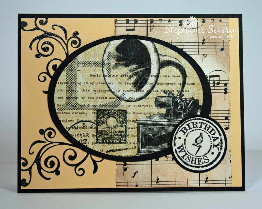 Ingenious Inkling Masculine Vintage Birthday Music – Vintage Birthday Cards for Men