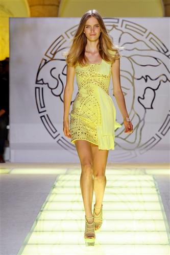 Versace Spring 2012