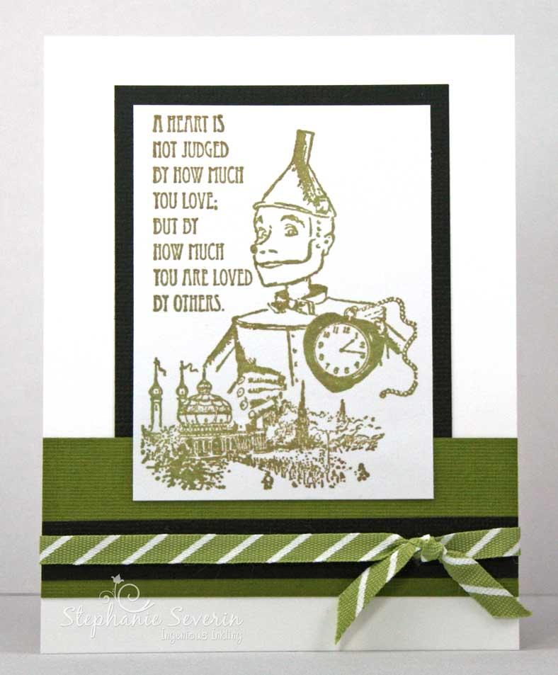 ingenious inkling sentimental scarecrow, Birthday card