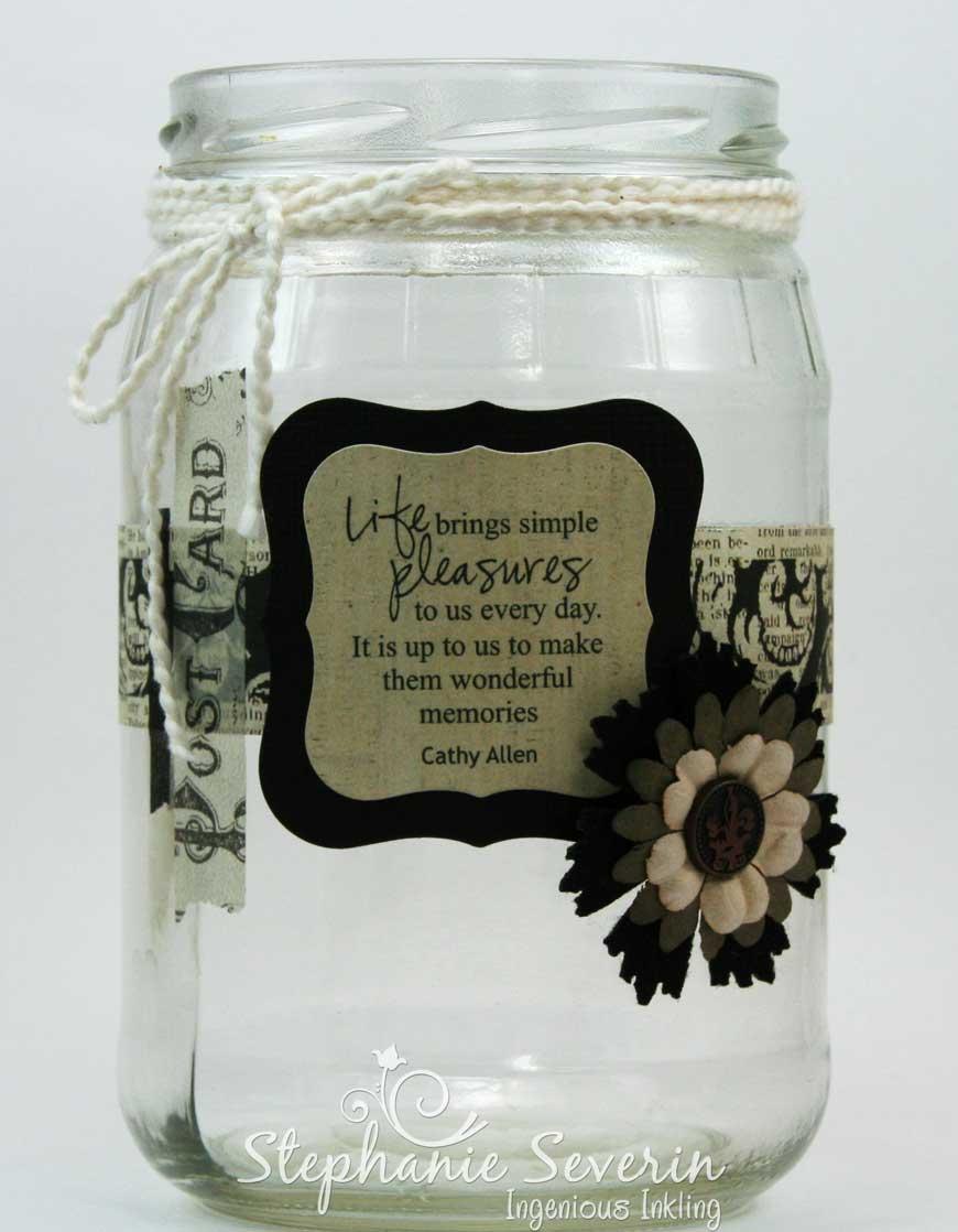 Ingenious Inkling Memory Jar