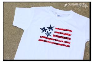 Bandana flag shirt make yourself