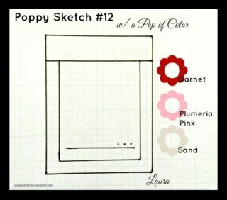 Poppy sketch #12