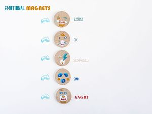 DIY emotional magnets by La maison de Loulou 6
