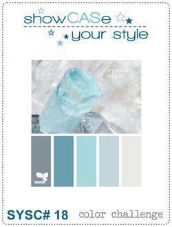 SCYS 18 colors blues