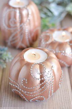 DIY-Pumpkin-Candles
