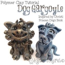 Polymer-Clay-Dog-Gargoyle-Tutorial-by-KatersAcres