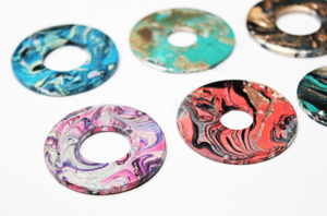 Colorful washers