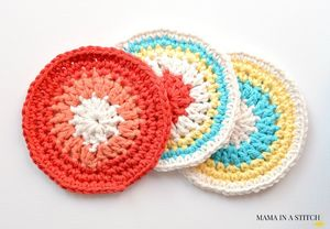Crochet-Coasters-Easy-Round-Pattern-