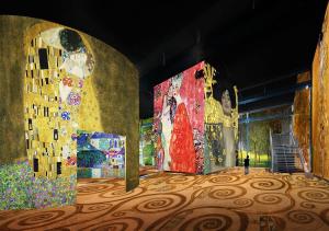 Klimt-art-atelier-des-lumieres-2