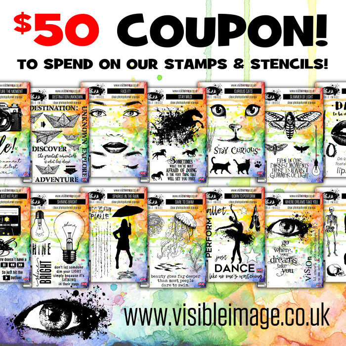 Visible Image -  $50 coupon
