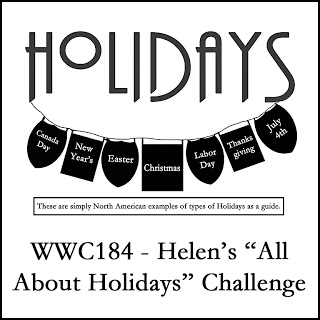 WWC184 - Helen's All About Holidays Challenge