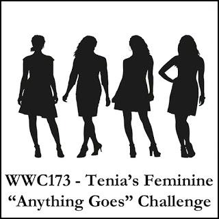 WWC173 -  Tenia's Feminine Anything Goes Challenge