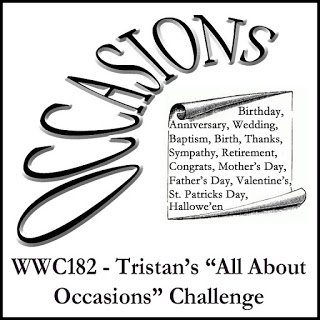 WWC182 - Tristan's All About Occasions Challenge
