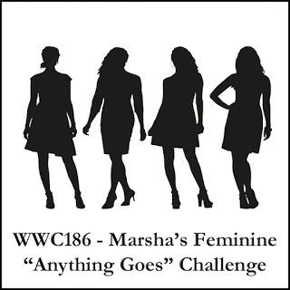 Challenge WWC186 - Marsha's Feminine Anything Goes Challenge