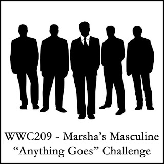 WWC209 - Marsha's Masculine Anything Goes Challenge