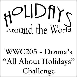 WWC205 - Donna's All About Holidays Challenge