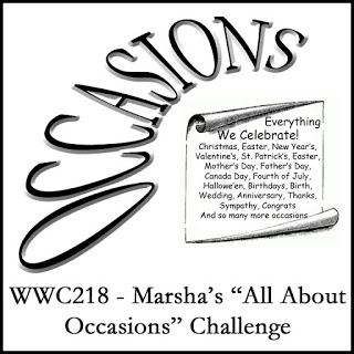 WWC218 - Marsha's All About Occasions Challenge