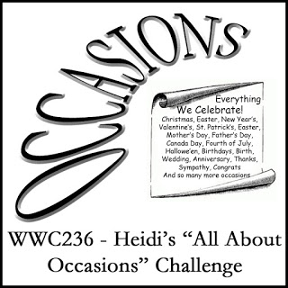 WWC236 - Heidi's All About Occasions Challenge