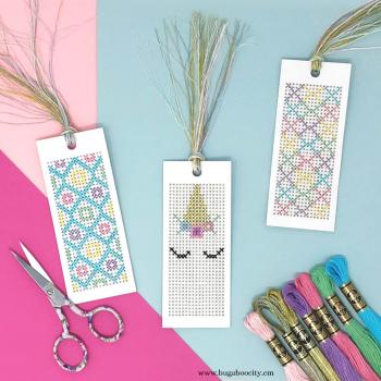 Unicorn-Cross-Stitch-Bookmarks-Free-Pattern