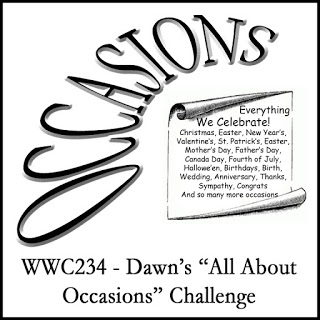 WWC234 - Dawn's All About Occasions Challenge