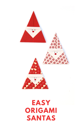 HOW+TO+MAKE+EASY+DIY+ORIGAMI+SANTAS+FATHER+CHRISTMAS