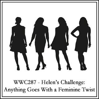 WWC287 - Helen's Feminine Anything Goes Challenge