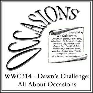 WWC314 - Dawn's Challenge  All About Occasions